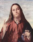 Vittore Carpaccio Salvator Mundi oil painting artist