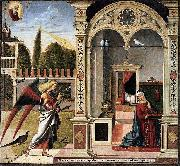 Vittore Carpaccio The Annunciation oil painting artist
