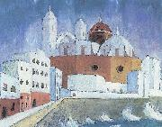 Walter Gramatte Cadiz oil painting reproduction