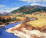 Willard Metcalf Vermont oil painting artist