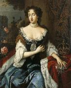 Willem Wissing. Mary Stuart wife of William III, prince of Orange.