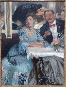 William Glackens At Mouquin's oil painting reproduction