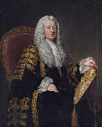 William Hoare Philip Yorke, 1st Earl of Hardwicke oil painting reproduction