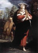 ANSALDO, G  Andrea The Flight into Egypt oil painting reproduction