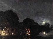 Adam Elsheimer The Flight into Egypt oil painting reproduction
