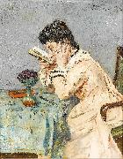Alfred Stevens The short sighted woman oil painting artist