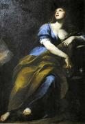 Andrea Vaccaro Penitent Mary Magdalene oil painting