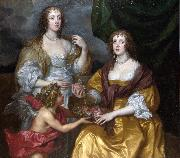 Lady Elizabeth Thimbelby and her Sister