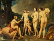 The Judgment of Paris, painting by Anton Raphael Mengs, now in the Eremitage, St. Petersburg