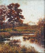 Attributed to Jan de Beer A Stream in Autumn oil painting