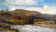 Benjamin Williams Leader The Conway Near Bettws y Coed oil painting