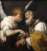 Bernardo Strozzi The Release of St Peter oil painting reproduction
