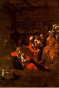 Caravaggio Adoration of the Shepherds oil painting reproduction