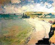 Beach in Pourville