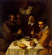 Diego Velazquez Lunch oil painting on canvas