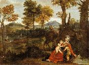Domenichino The Rest on the Flight into Egypt oil painting reproduction