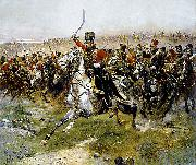 Charge of the 4th Hussars at the battle of Friedland, 14 June 1807