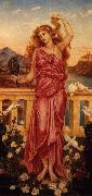 Evelyn De Morgan Helen of Troy oil painting reproduction