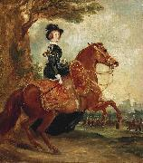 Francis Grant Portrait of Queen Victoria on horseback oil painting reproduction