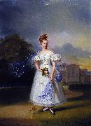 Francis Grant when a girl oil painting reproduction
