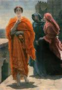 Frederic Leighton, 1st Baron Leighton Helen of Troy oil painting reproduction