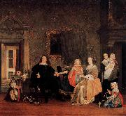 Portrait of Jan Jacobsz Hinlopen and His Family