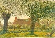 George Price Boyce.RWS At Binsey near Oxford oil painting