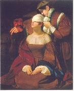 Lady Jane Grey Preparing for Execution