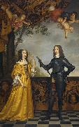 Willem II (1626-50), prince of Orange, and his wife Maria Stuart (1631-60)