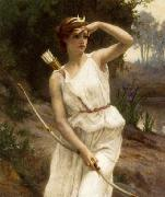 Guillaume Seignac Diana the Huntress oil painting reproduction