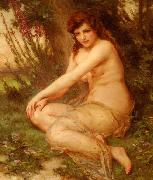 Guillaume Seignac La Nymphe de la Foret oil painting reproduction