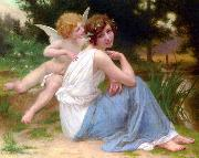 Guillaume Seignac Cupid and Psyche oil painting reproduction