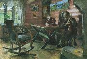 Harriet Backer Kolbotnstua oil painting