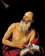 Hendrick van Somer St Jerome oil painting reproduction