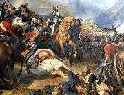 Napoleon at the Battle of Rivoli