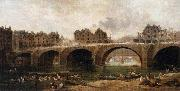 Demolition of the Houses on the Pont Notre Dame in 1786