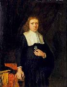 Jacobus Vrel Portrait of a gentleman oil painting