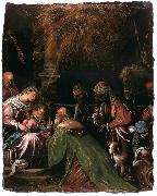 Jacopo Bassano The Adoration of the Magi oil painting reproduction