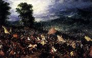 Jan Brueghel The Battle of Issus oil painting reproduction