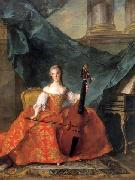 Madame Henriette playing the Gamba
