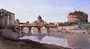 The Bridge and Castel Sant'Angelo with the Cuploa of St. Peter's