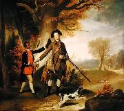 The Third Duke of Richmond out Shooting with his Servant
