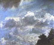 Cloud Study, Hampstead; Tree at Right, Royal Academy of Arts, London