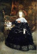 Juan Bautista del Mazo Portrait of Maria Theresa of Austria while an infant oil painting artist