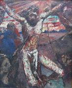 Lovis Corinth Der rote Christus oil painting reproduction