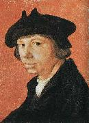 Lucas van Leyden Self portrait oil painting reproduction