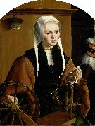 Maarten van Heemskerck Portrait of a Woman oil painting reproduction