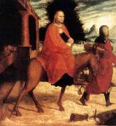 Master of Ab Monogram The Flight into Egypt oil painting reproduction