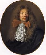 Portrait of the painter Adam Frans van der Meulen.