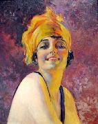 Young Woman with a Turban